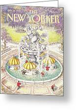 New Yorker July 18th, 1988 Greeting Card