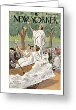 New Yorker July 1st, 1933 Greeting Card
