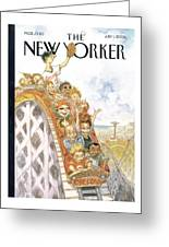 New Yorker July 1st, 2002 Greeting Card
