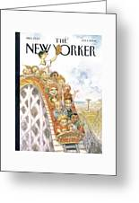 New Yorker July 1st, 2002 Greeting Card by Peter de Seve