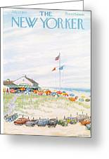 New Yorker July 27th, 1957 Greeting Card