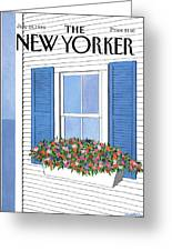 New Yorker July 28th, 1986 Greeting Card