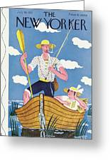 New Yorker July 30th, 1932 Greeting Card