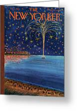 New Yorker July 6th, 1963 Greeting Card