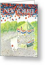 New Yorker July 6th, 1987 Greeting Card