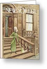 New Yorker July 8th, 1944 Greeting Card