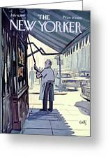 New Yorker July 8th, 1967 Greeting Card
