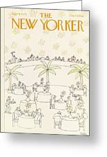New Yorker July 9th, 1979 Greeting Card