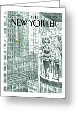 New Yorker June 11th, 2001 Greeting Card