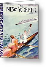 New Yorker June 15 1935 Greeting Card