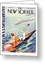 New Yorker June 15 1935 Greeting Card