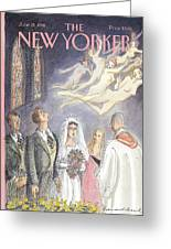 New Yorker June 15th, 1998 Greeting Card