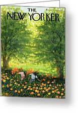 New Yorker June 20th, 1959 Greeting Card