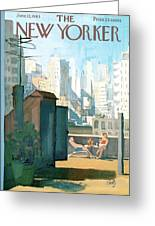New Yorker June 22nd, 1963 Greeting Card