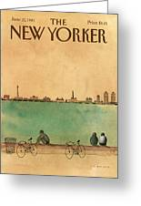 New Yorker June 22nd, 1981 Greeting Card