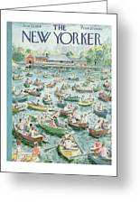 New Yorker June 23rd, 1956 Greeting Card