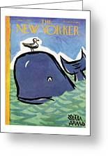 New Yorker June 23rd, 1962 Greeting Card