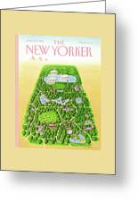 New Yorker June 25th, 1990 Greeting Card by Bob Knox