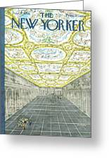 New Yorker June 27th, 1964 Greeting Card