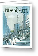 New Yorker June 27th, 1977 Greeting Card