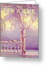 New Yorker June 29th, 1981 Greeting Card