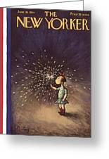 New Yorker June 30th, 1934 Greeting Card