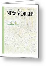 New Yorker June 30th, 2003 Greeting Card