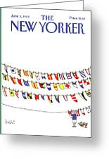 New Yorker June 3rd, 1985 Greeting Card