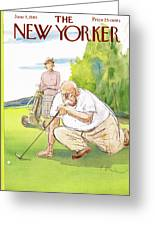 New Yorker June 5th, 1965 Greeting Card