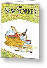 New Yorker June 5th, 1978 Greeting Card
