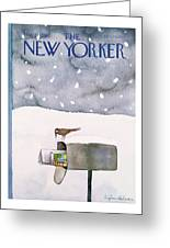New Yorker March 10th, 1980 Greeting Card