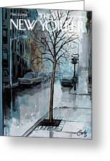 New Yorker March 12th, 1966 Greeting Card