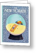 New Yorker March 12th, 1990 Greeting Card