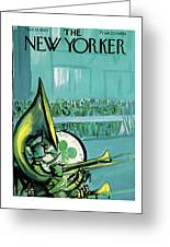 New Yorker March 18th, 1961 Greeting Card