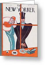 New Yorker March 20th, 1926 Greeting Card