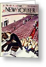 New Yorker March 21 1936 Greeting Card