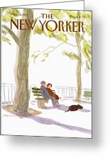 New Yorker March 23rd, 1981 Greeting Card