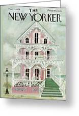 New Yorker March 25th, 1974 Greeting Card