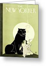 New Yorker March 28th, 1925 Greeting Card
