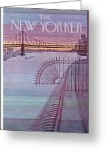 New Yorker March 31st, 1980 Greeting Card