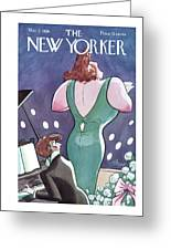 New Yorker March 3rd, 1928 Greeting Card