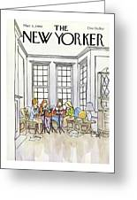 New Yorker March 3rd, 1980 Greeting Card