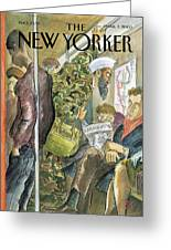New Yorker March 3rd, 2003 Greeting Card