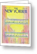 New Yorker March 4th, 1985 Greeting Card