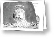 New Yorker March 8th, 1993 Greeting Card