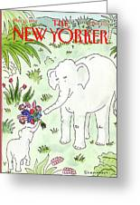 New Yorker May 11th, 1992 Greeting Card