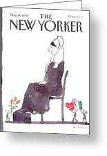 New Yorker May 14th, 1990 Greeting Card