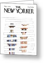 New Yorker May 1st, 1978 Greeting Card