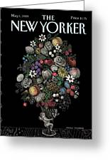 New Yorker May 1st, 1989 Greeting Card