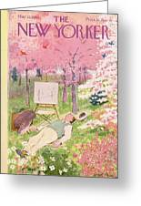 New Yorker May 21st, 1949 Greeting Card